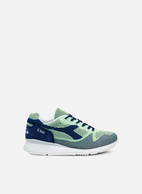 sneakers diadora v7000 weave blue limoges green ash