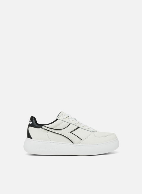 sneakers diadora wmns belite l wide white black