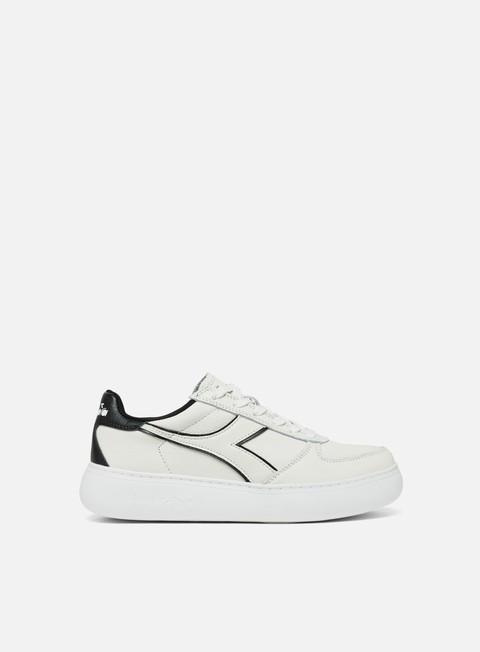 sneakers diadora wmns belite l wide white black
