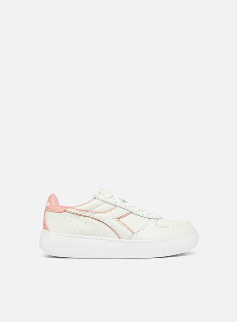 sneakers diadora wmns belite l wide white dusty pink
