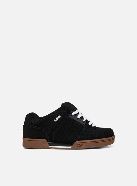 sneakers dvs celsius black white gum