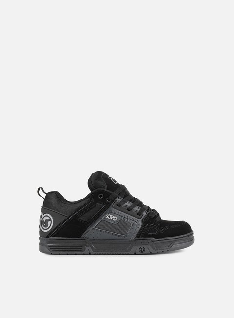 sneakers dvs comanche black grey black nubuk