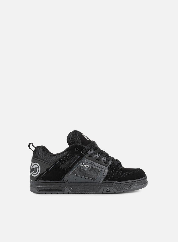 DVS - Comanche, Black/Grey/Black Nubuk