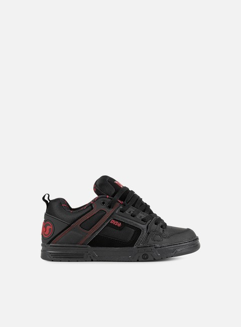 sneakers dvs comanche black red black
