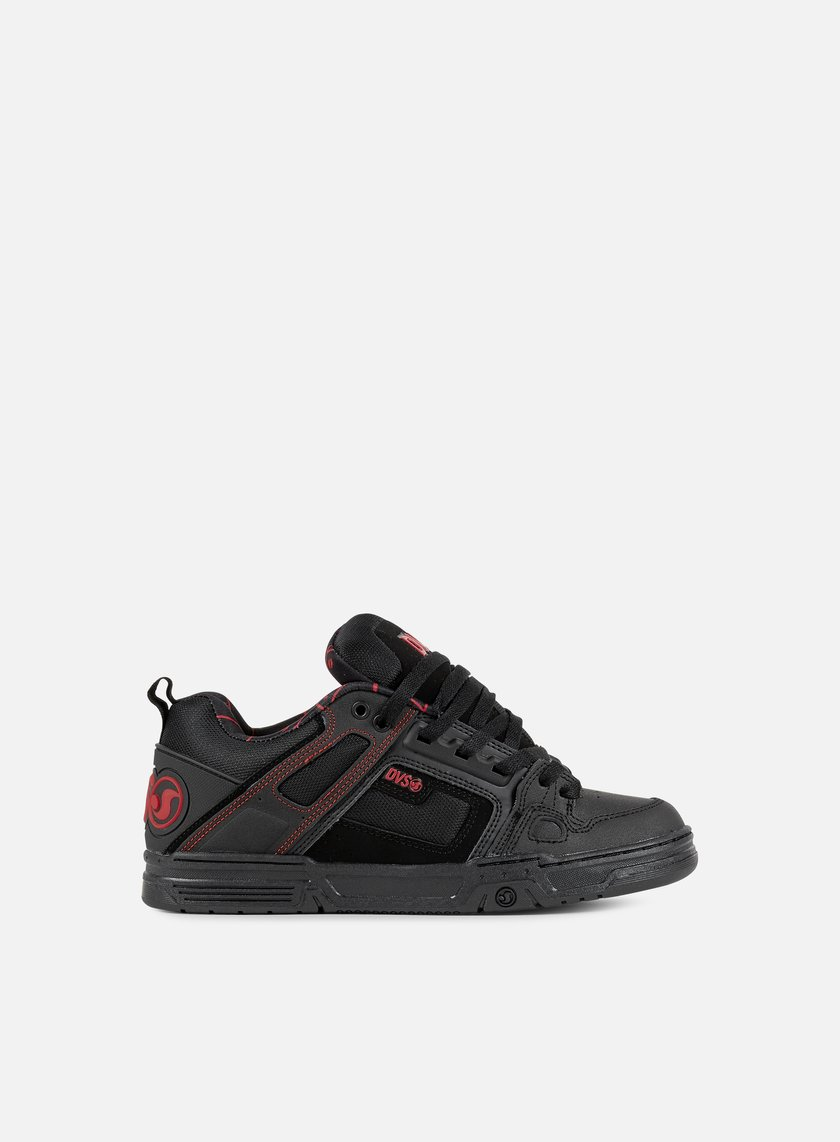 DVS - Comanche, Black/Red/Black
