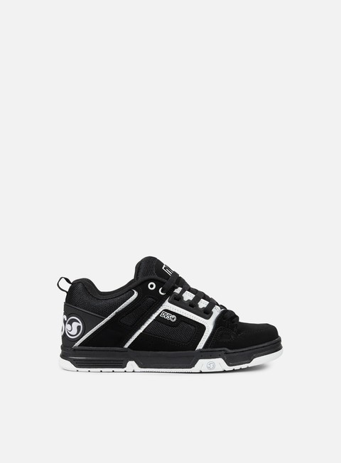 sneakers dvs comanche black white