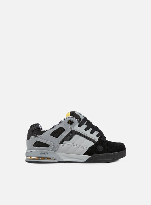 sneakers dvs drone black charcoal grey