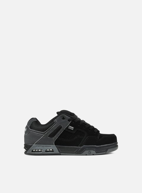 sneakers dvs enduro heir black grey nubuck