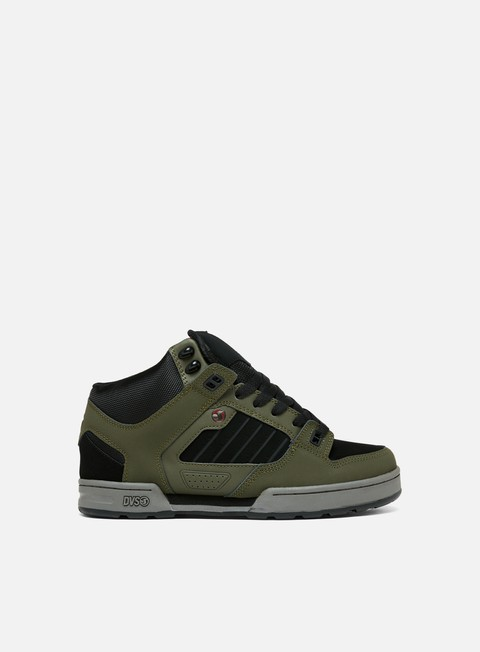 sneakers dvs militia boot military olive black