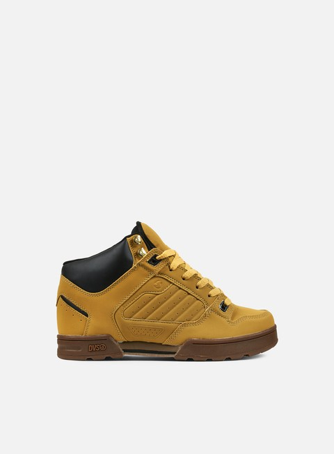 sneakers dvs militia boot tan