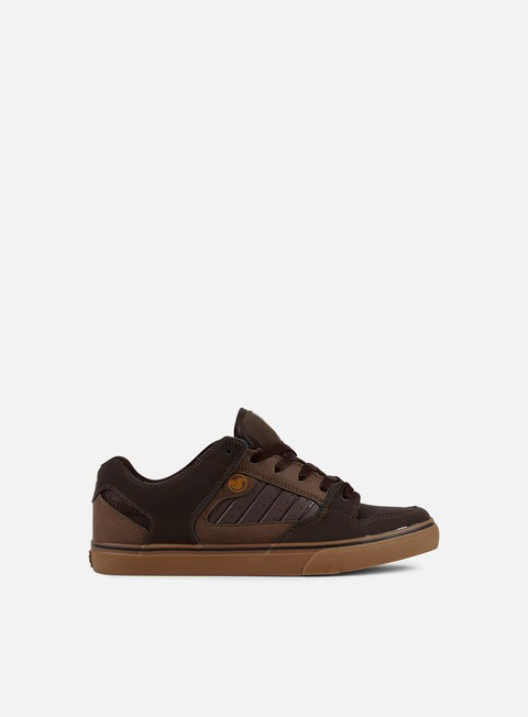 sneakers dvs militia ct brown gum nubuk