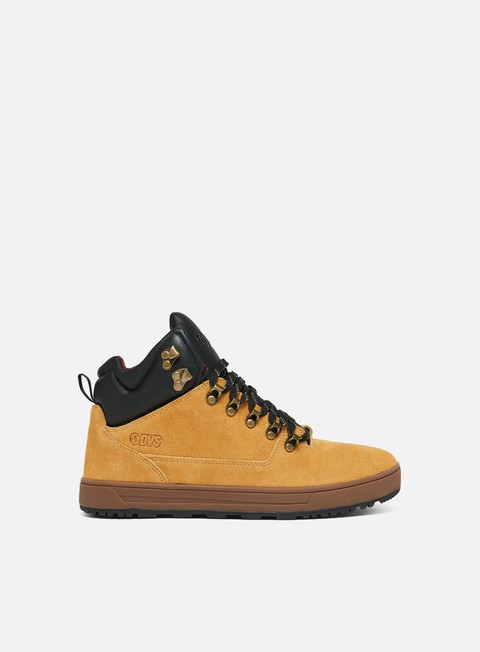 sneakers dvs vanguard chamois black
