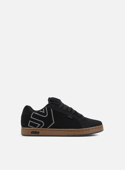 sneakers etnies fader black charcoal gum
