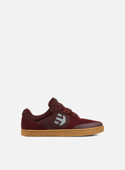 sneakers etnies marana burgundy tan