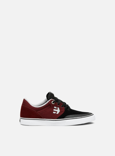 sneakers etnies marana vulc black red