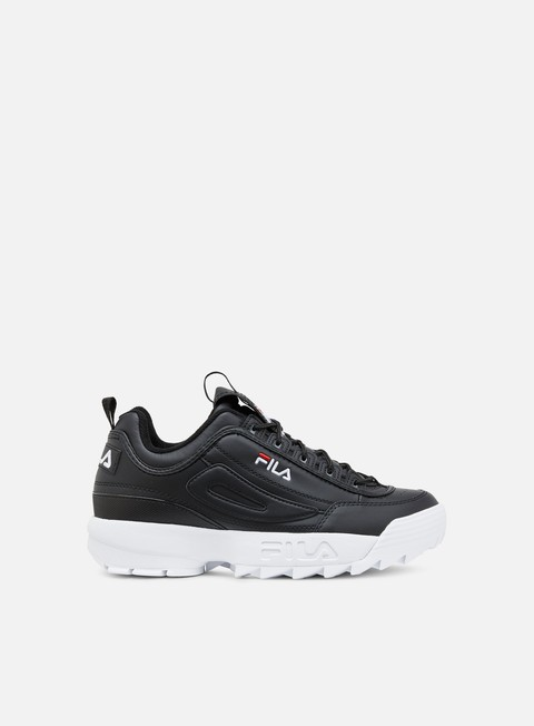 sneakers fila disruptor low black