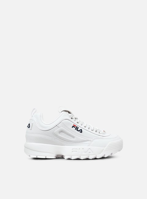 sneakers fila disruptor low white