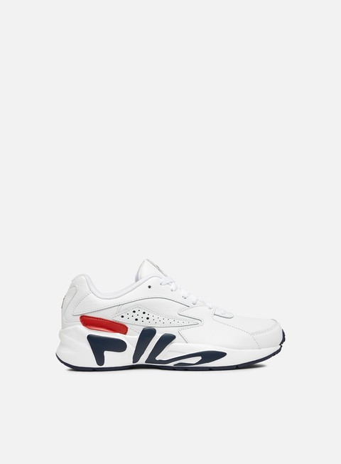 sneakers fila mindblower white navy red