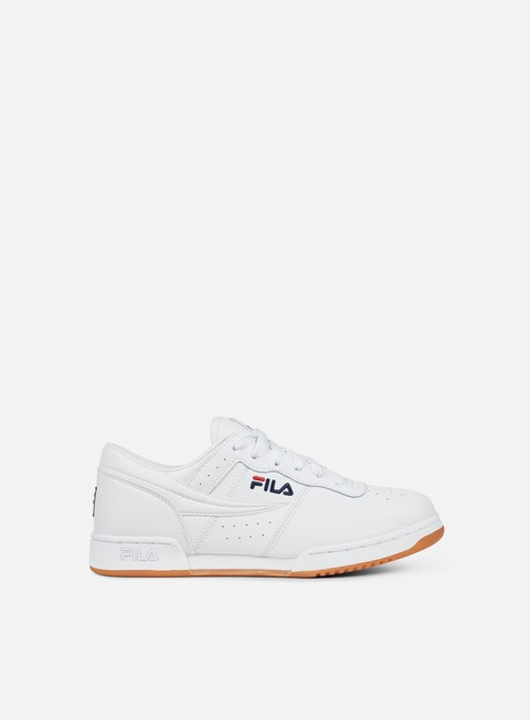 sneakers fila original fitness white fila navy fila red