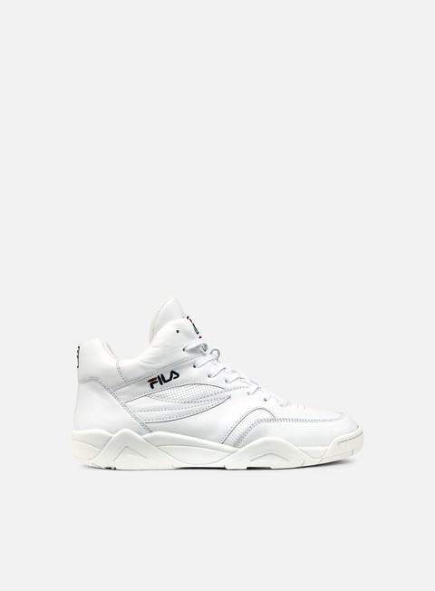 sneakers fila pine mid white