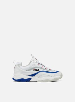 Fila - Ray F Low, White/Electric Blue/Grey Violet