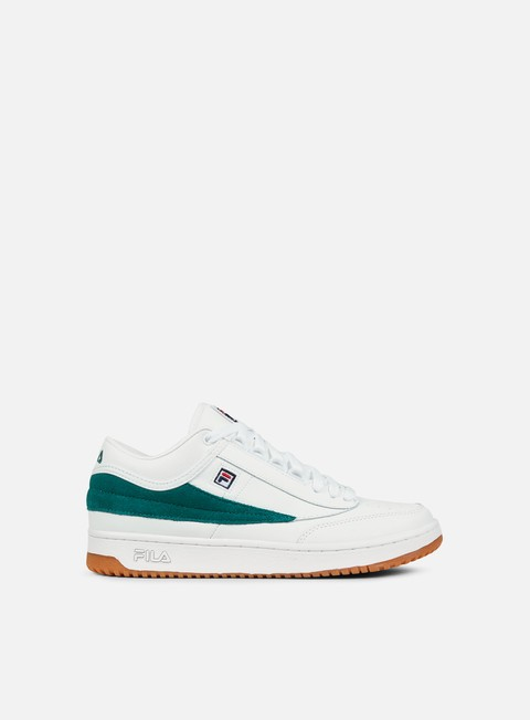 sneakers fila t1 mid white shady glade gum