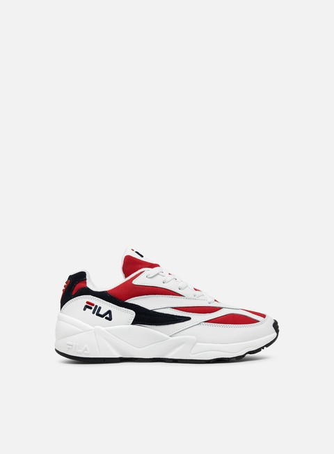 sneakers fila wmns 94 low white fila navy fila red