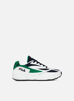 Fila - WMNS 94 Low, White/Fila Navy/Shady Glade