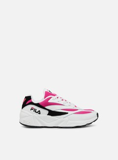 Fila - WMNS 94 Low, White/Very Berry/Black