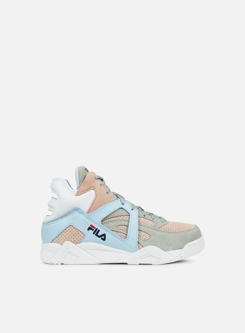 sneakers fila wmns cage cb mid peach whip angel falls