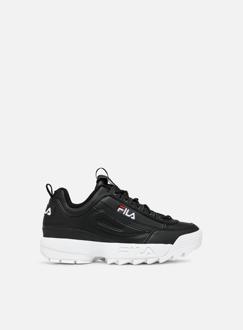 sneakers fila wmns disruptor low black