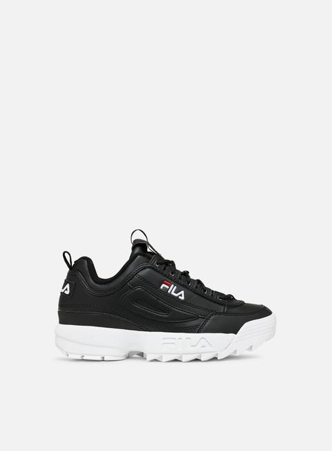 sneakers fila wmns disruptor low black