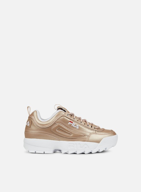 sneakers fila wmns disruptor m low rose gold