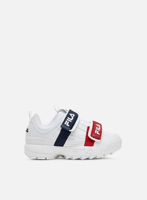 Sale Outlet Low Sneakers Fila WMNS Disruptor Straps