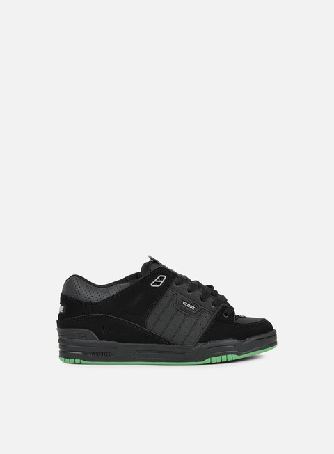 sneakers globe fusion black black green