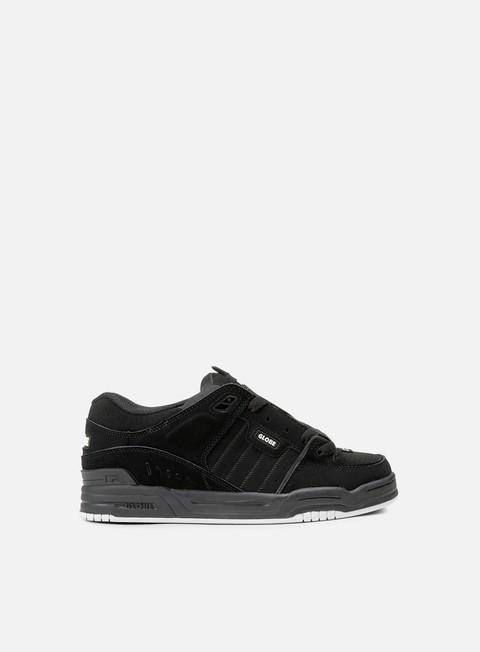 sneakers globe fusion black black white