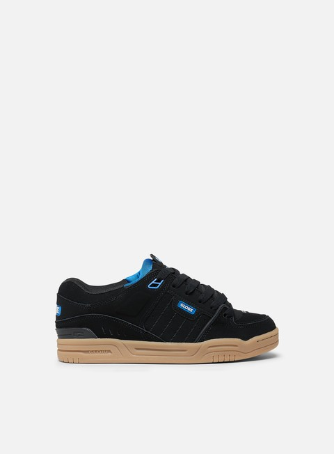 sneakers globe fusion black blue gum