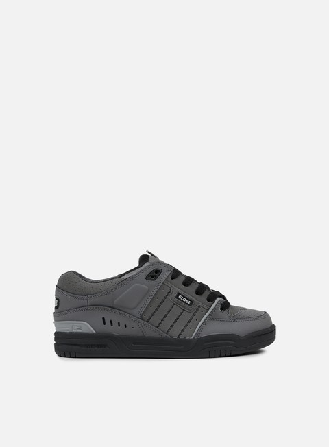 sneakers globe fusion charcoal knit