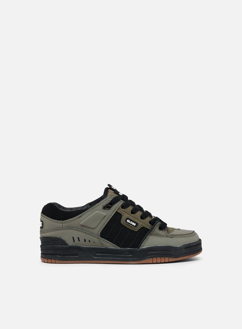 sneakers globe fusion dusty olive black