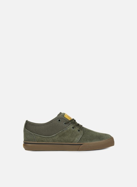 sneakers globe mahalo dark green