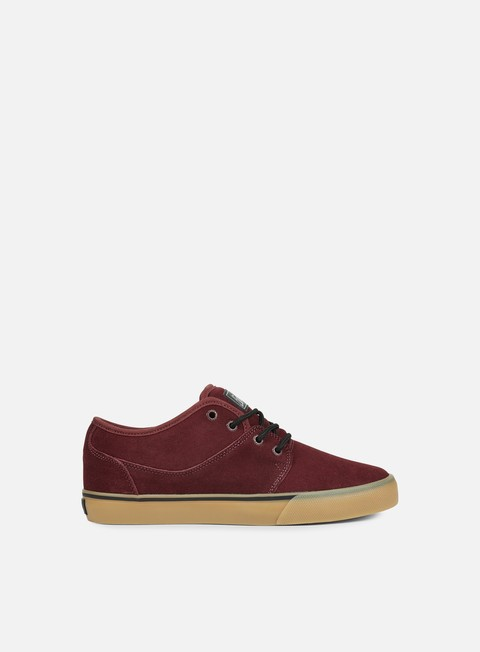 sneakers globe mahalo ox blood gum