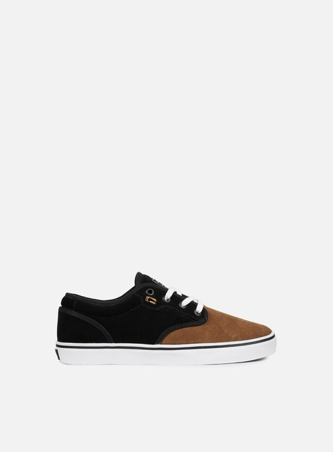 sneakers globe motley black toffee white