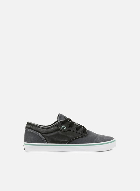 sneakers globe motley dark shadow black wash