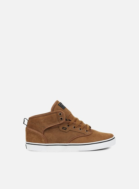 sneakers globe motley mid toffee white
