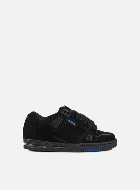 sneakers globe sabre black black blue