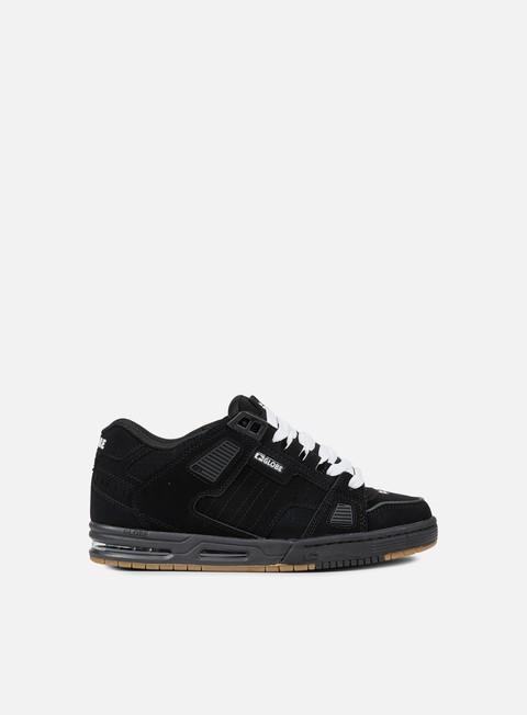 sneakers globe sabre black black gum