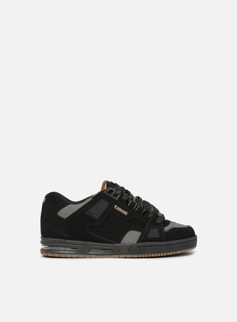 sneakers globe sabre black charcoal woodsmoke brown