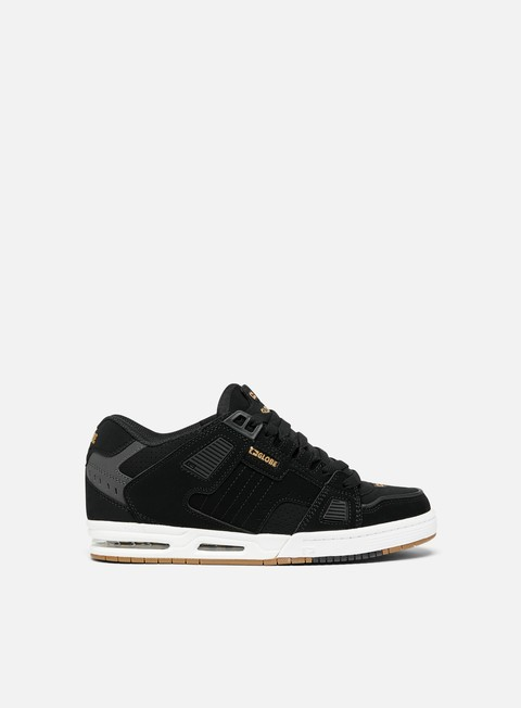 sneakers globe sabre black gold