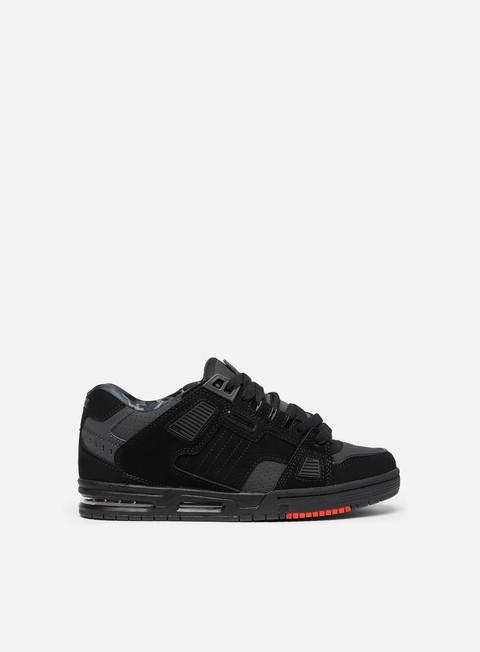 sneakers globe sabre black night red