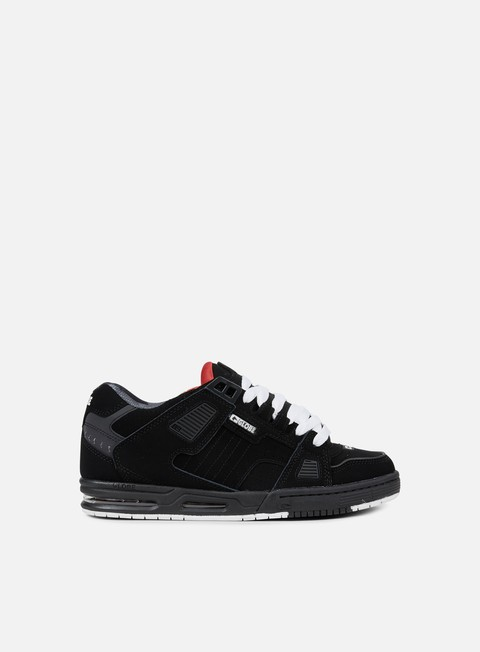 sneakers globe sabre black red